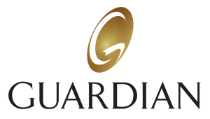 guardian life insurance logo in black and gold