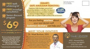 Mesilla Family Dentistry promotion